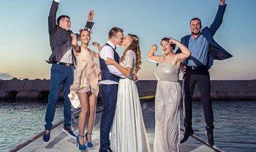 חתונה על חוף הים