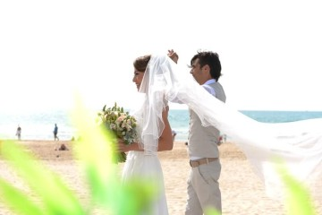 בדרך לחופה על חוף הים בהפקת wedman ארגון חתונות