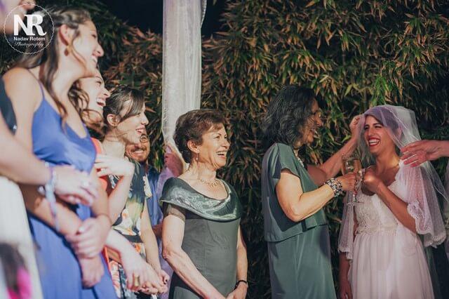 טקס מרגש בחתונה באיסט