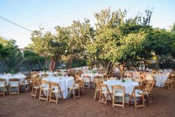 חתונה כפרית בוילה במכמורת