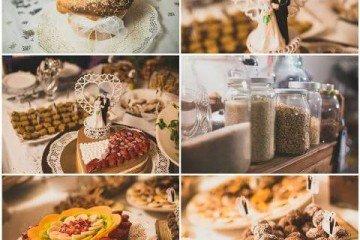 תפריט מקורי לחתונה