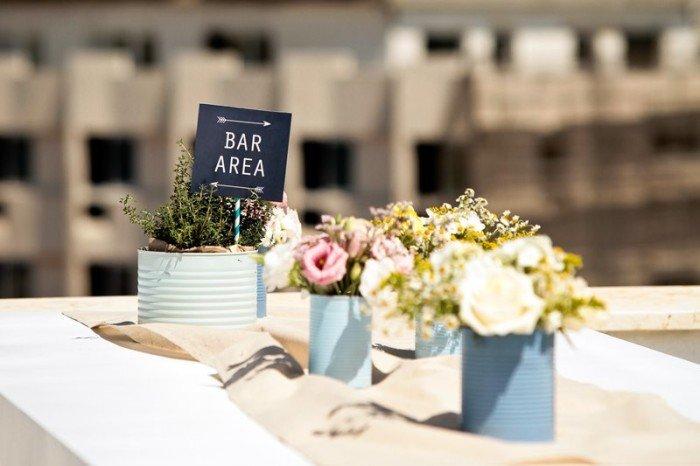מרכז שולחן שיקי ומיוחד בחתונה