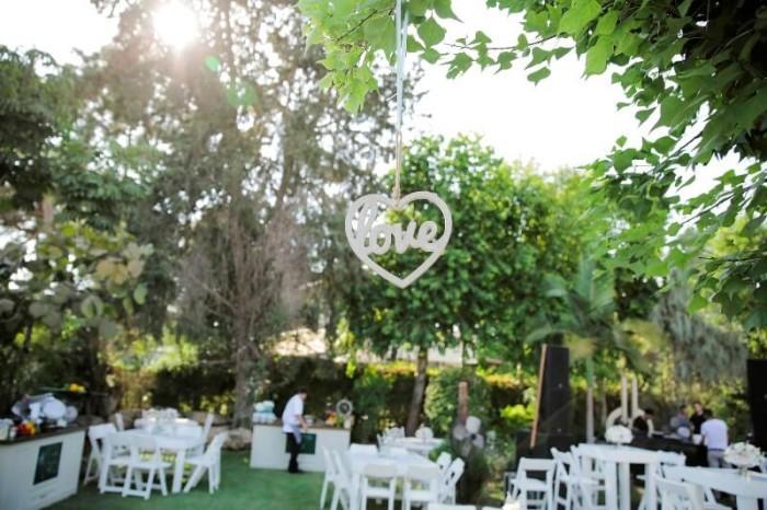 משק ירוק ומעוצב לקראת חתונה