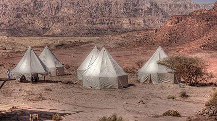 אוהלים לתוכנית טלויזיה