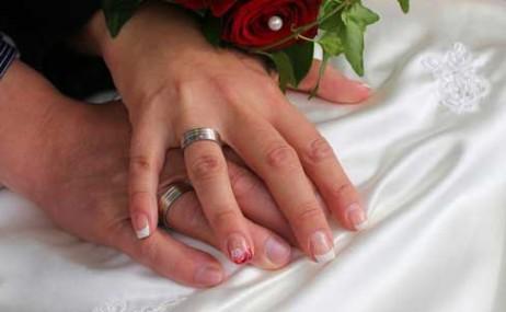 טבעות אירוסין, טבעות נישואין