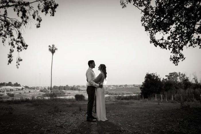 ארגון חתונה קטנה בחוות אלנבי